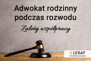 Adwokat rodzinny podczas rozwodu – zalety współpracy