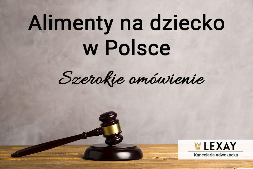 Alimenty na dziecko w Polsce szerokie omówienie